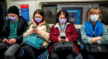 Sporting A Face Mask On Public Transport