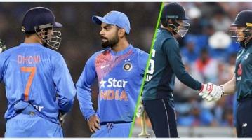 India Vs England History