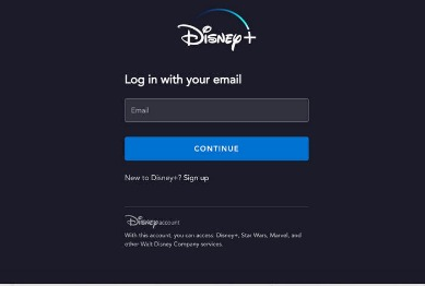 Disney Plus App Caught On Loading Display Screen