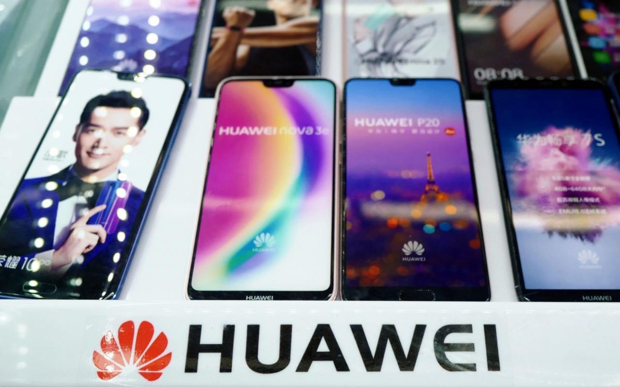 who makes huawei phones